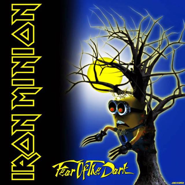 Iron Maidenc apas de discos recriadas na versão Minion14