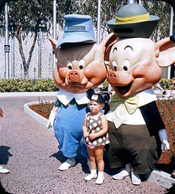 A Disney das antigas em 20 fotos medonhas 11